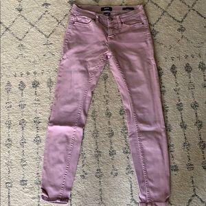 BDG Pink/purple skinny jeans